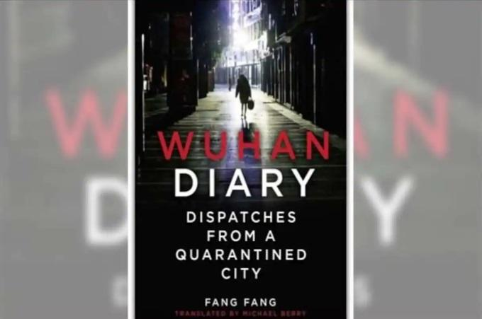 """A Book titled """"Wuhan Diary: Dispatches from a Quarantined City"""" authored by Fang Fang_40.1"""