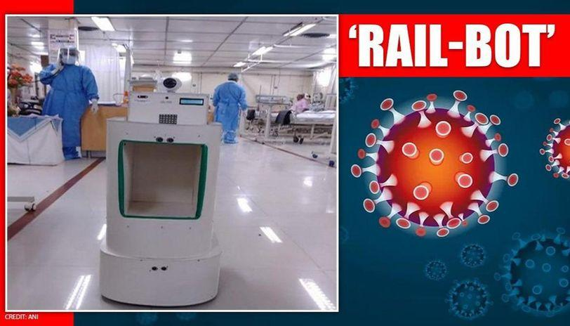 SCR develops 'Rail-Bot' to provide better health care to COVID patients_40.1