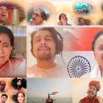 """Lata Mangeskar sings """"JAYTU BHARATAM"""" song for Atma Nirbhar Bharat"""