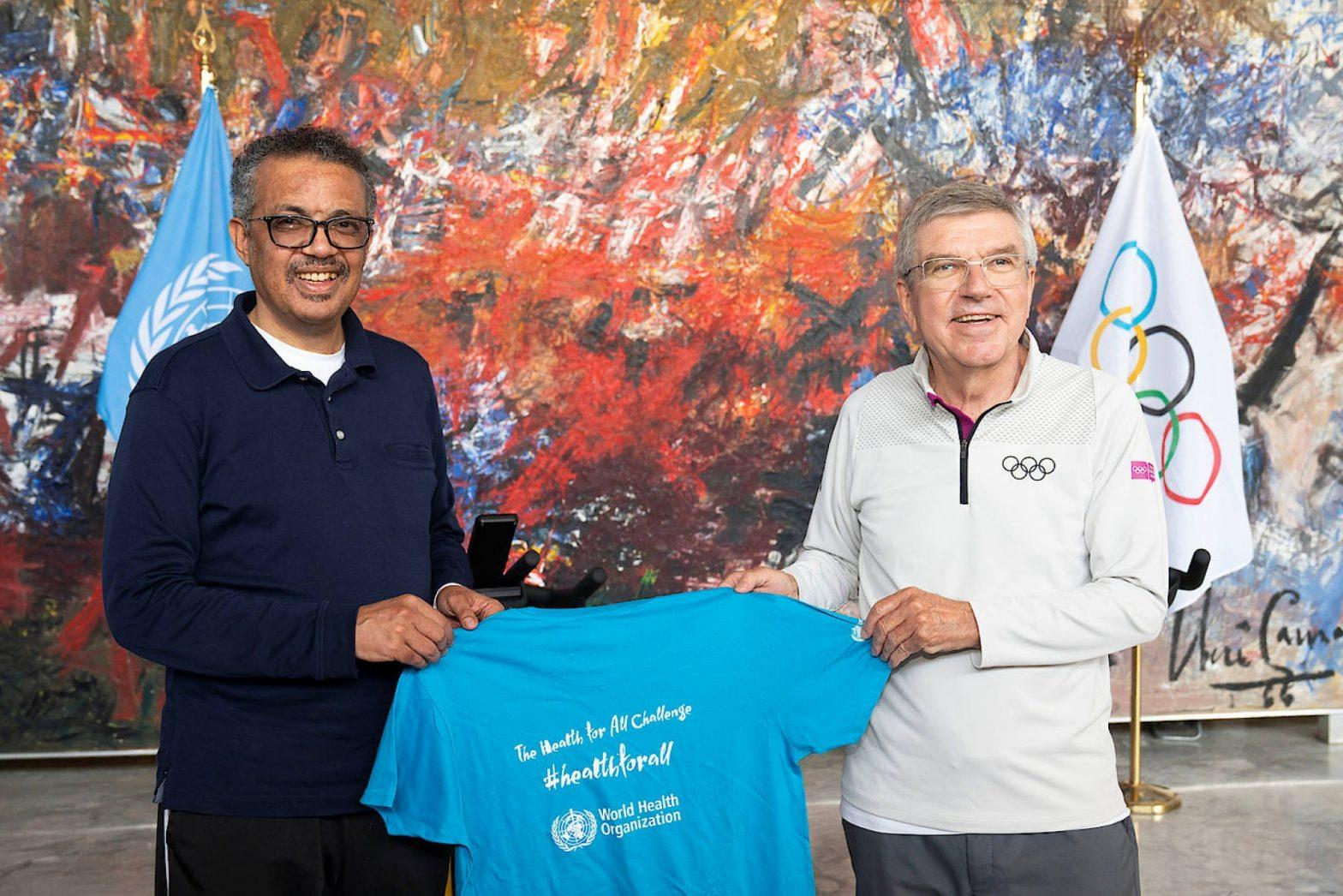 WHO & IOC team up to improve health through sport_40.1