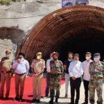 Nitin Gadkari inaugurates tunnel under Chardham Pariyojana in Chamba