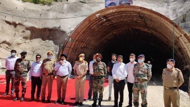 Nitin Gadkari inaugurates tunnel under Chardham Pariyojana in Chamba_40.1