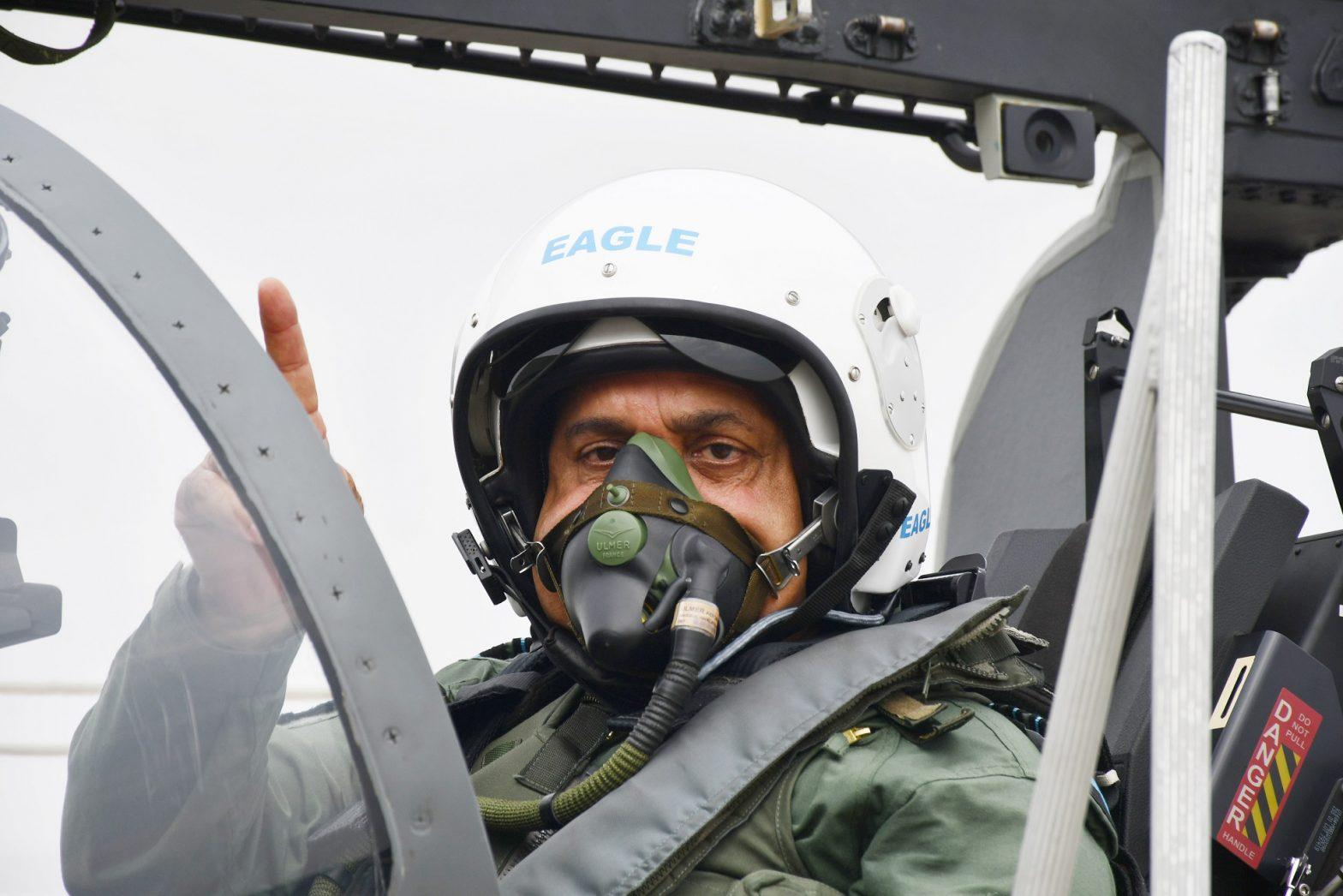 """IAF inducts Tejas Mk-1 FOC aircraft in Squadron """"Flying Bullets""""_40.1"""