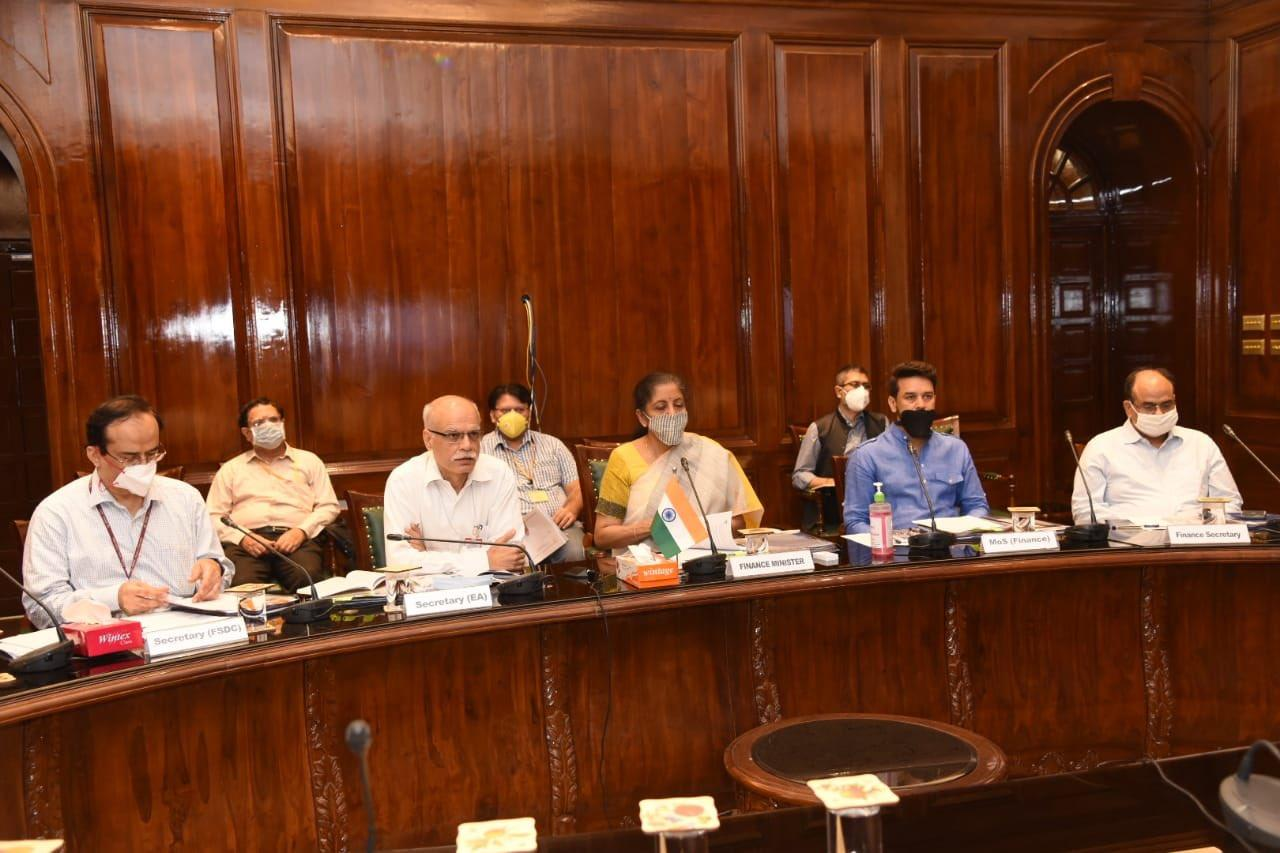 FM Nirmala Sitharaman chairs 22nd Meeting of FSDC_40.1