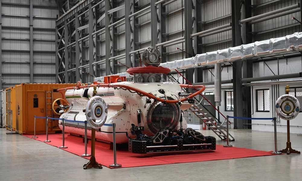 Deep Submergence Rescue Vehicle (DSRV) complex inaugurated in Vizag_40.1