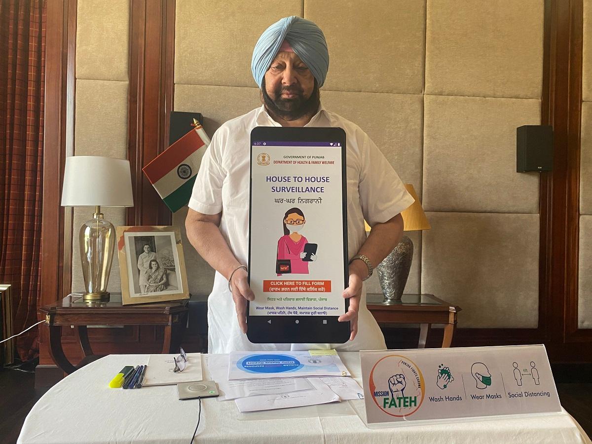 "Punjab government launches mobile App ""Ghar Ghar Nigrani""_40.1"