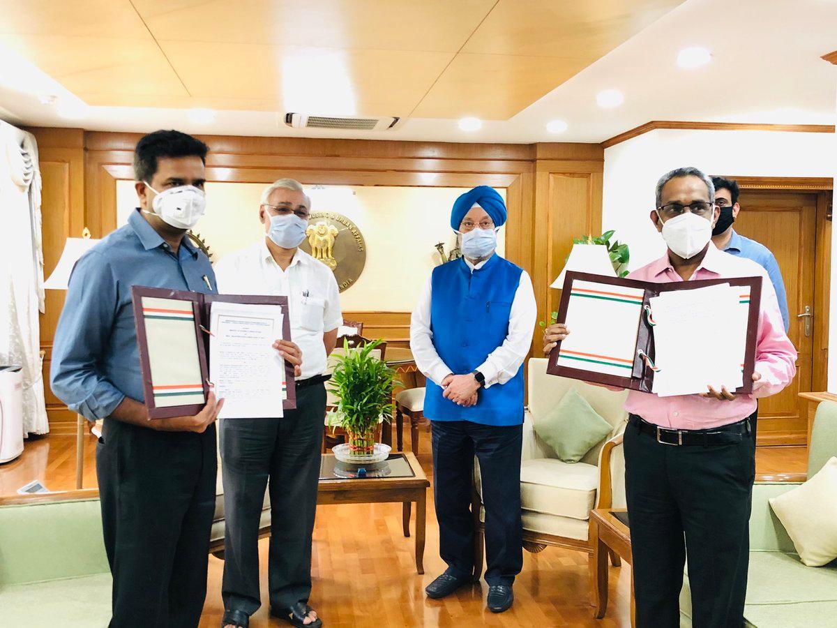 MoHUA & SIDBI signs MoU for PM SVANidhi scheme_40.1