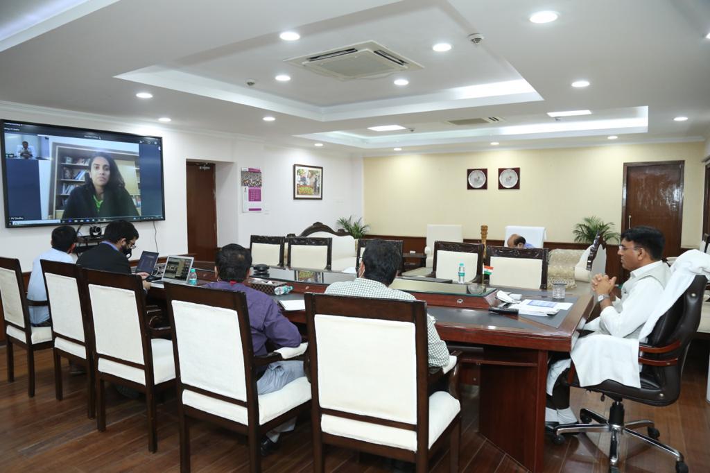 Mansukh Mandaviya introduce India's 1st Virtual Healthcare & Hygiene EXPO 2020_40.1