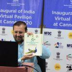 "Virtual India Pavilion at ""Cannes Film Market 2020"" inaugurated"
