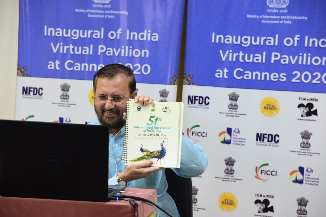 "Virtual India Pavilion at ""Cannes Film Market 2020"" inaugurated_40.1"