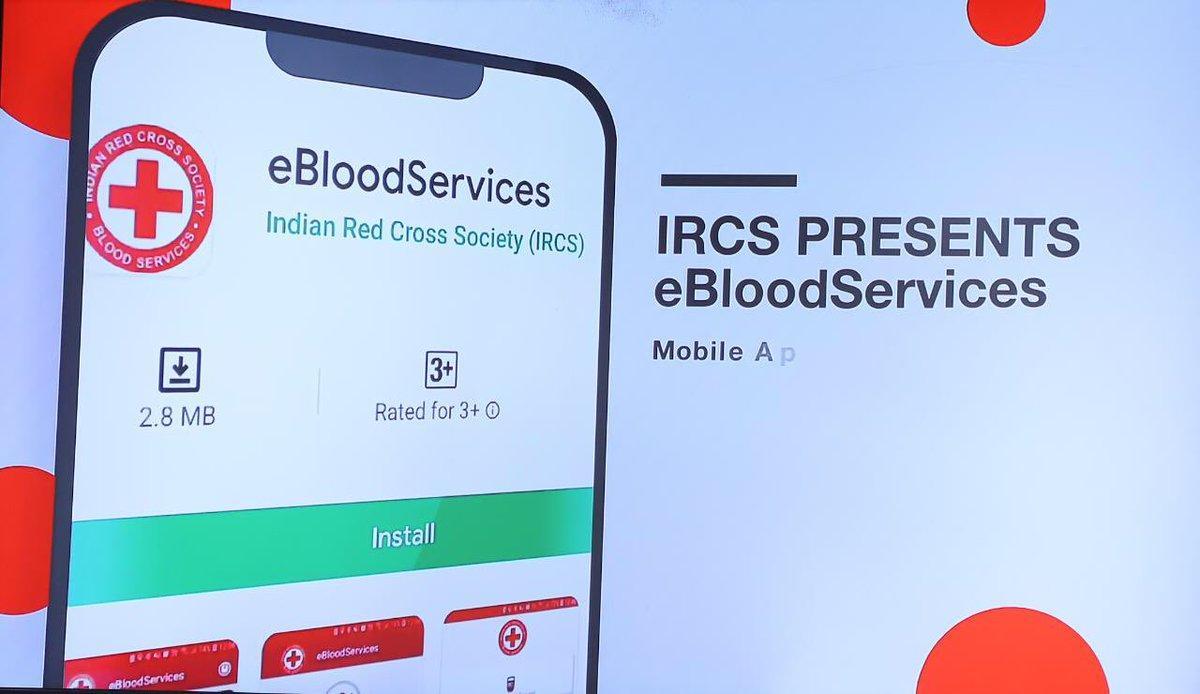 Harsh Vardhan launches 'eBloodServices' Mobile App_40.1