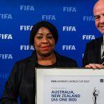 Australia and New Zealand named as hosts of FIFA Women's World Cup 2023