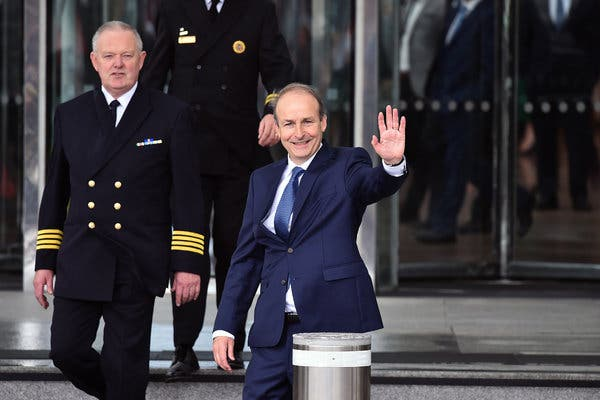Micheal Martin becomes new PM of Ireland_40.1