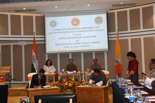 India signs agreement with Bhutan for 600 MW hydroelectric project_40.1