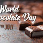World Chocolate Day celebrated on 7th July
