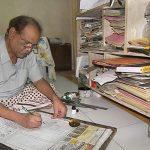 Renowned cartoonist Avad Bin Hassan Jami passes away