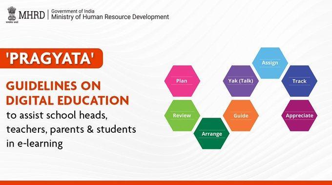 HRD Minister releases 'Pragyata' guidelines for online education_40.1