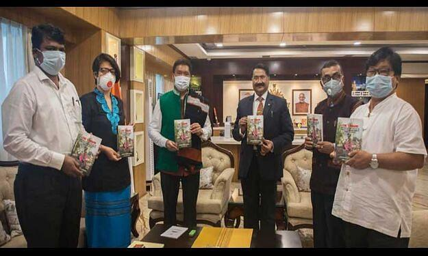 Chief Minister Pema Khandu releases book on endangered tribe_40.1