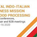 Digital Indo-Italian Business Mission on Food Processing
