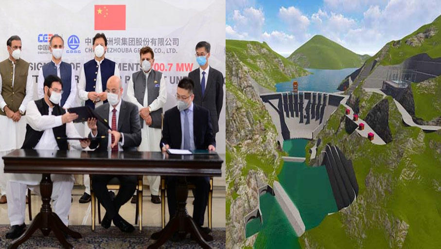 """Pakistan, China sign agreement for """"Azad Pattan Hydel Power Project""""_40.1"""