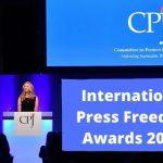 CPJ International Press Freedom Award 2020 announced
