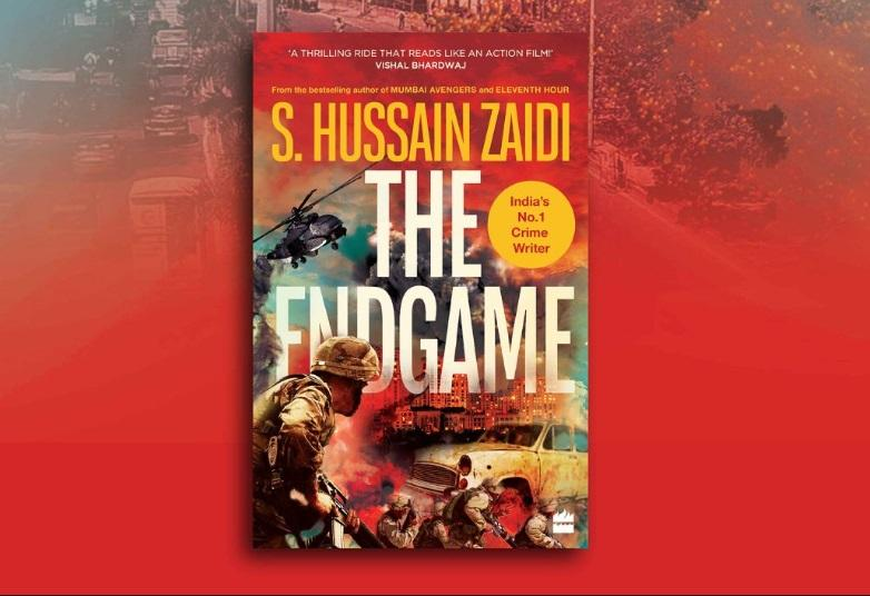 """A book titled """"The Endgame"""" authored by Hussain Zaidi_40.1"""