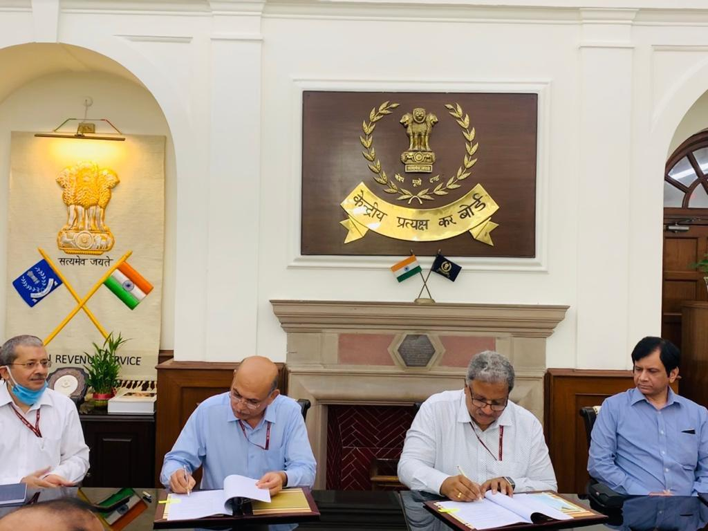 CBIC has signed MoU with CBDT for data exchange_40.1