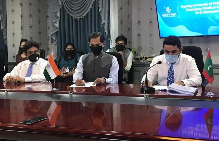 "India-Maldives sign agreement to establish ""Emergency Medical Services""_40.1"