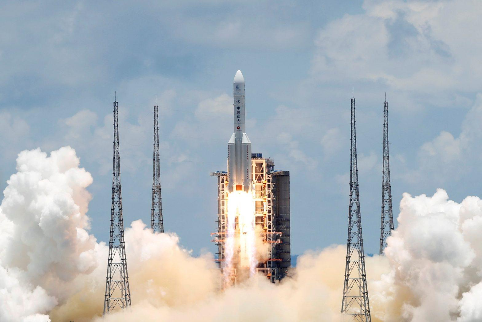 China launches its 1st independent mission to Mars_40.1