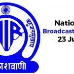 National Broadcasting Day celebrated on 23rd July