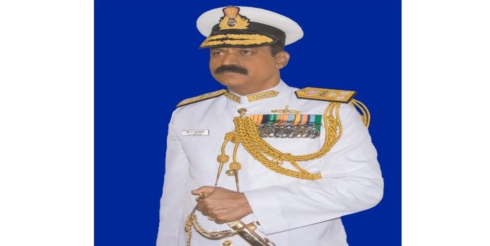 Vice Admiral MA Hampiholi assumes Charge as commandant of INA_40.1