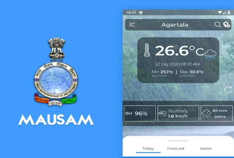 """Dr Harsh Vardhan launched """"Mausam"""" app for weather forecasts_40.1"""