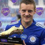 Jamie Vardy wins Premier League's Golden Boot award