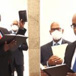 Mark Phillips sworn in as Prime Minister of Guyana