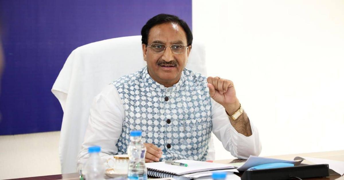 Education Minister laid the foundation stone of IIM-Dhaula Kuan_40.1