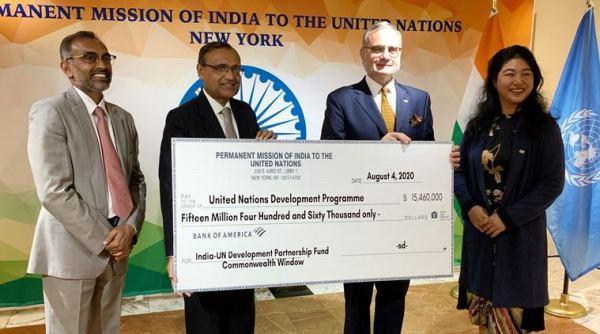 India-UN Development Partnership Fund: India contributes USD 15.46 mn_40.1