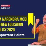 PM Modi addresses on New Education Policy 2020