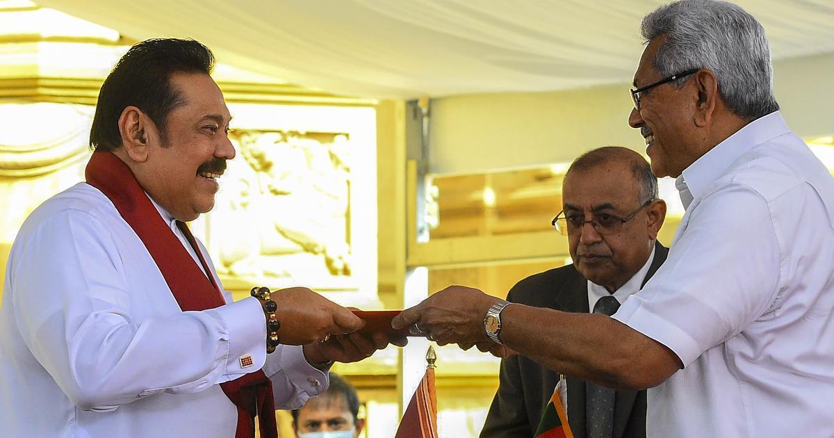 Mahinda Rajapaksa takes oath as Sri Lankan PM for 4th time_40.1