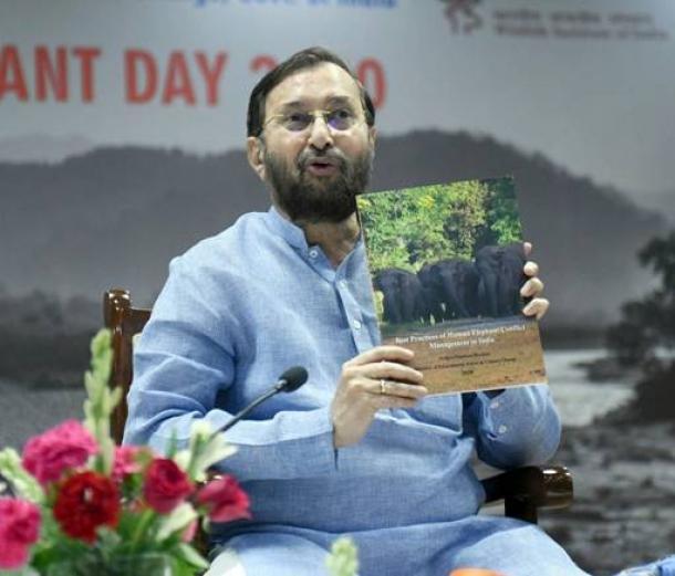 "GoI launched National Portal ""SURAKHSYA"" on Human Elephant conflict_40.1"