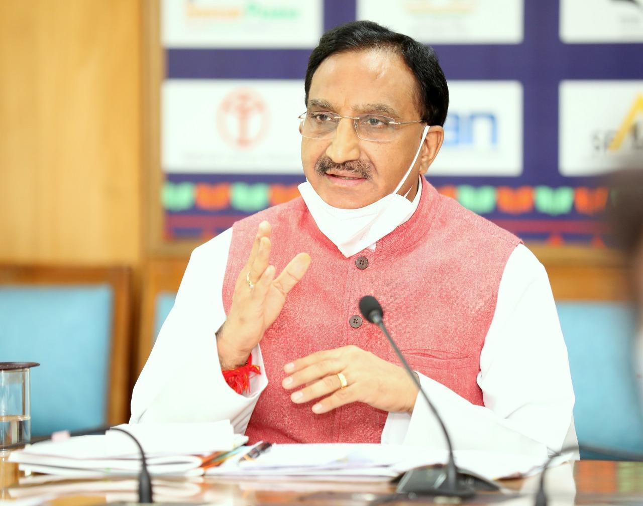 Webinar on 'AtmaNirbhar Madhya Pradesh: Health and Education'_40.1