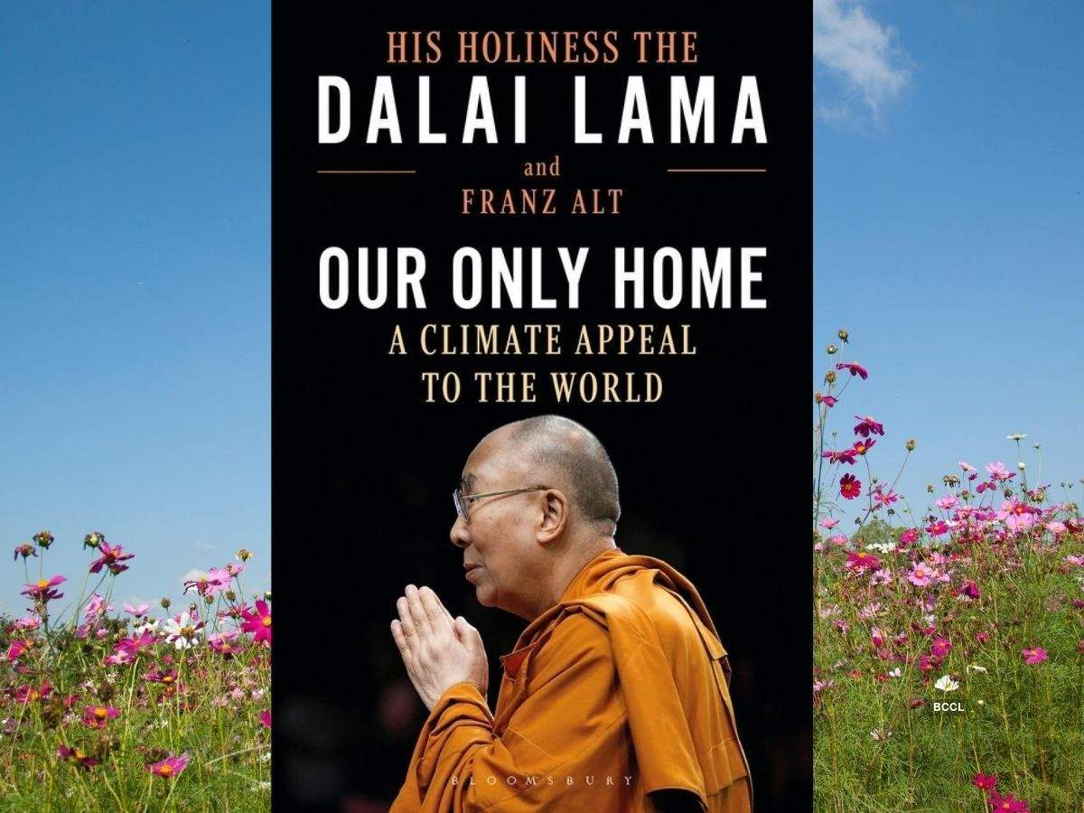 """A book titled """"Our Only Home: A Climate Appeal to the World"""" by Dalai Lama_40.1"""