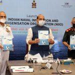Raksha Mantri launches Naval Innovation and Indigenisation Organisation