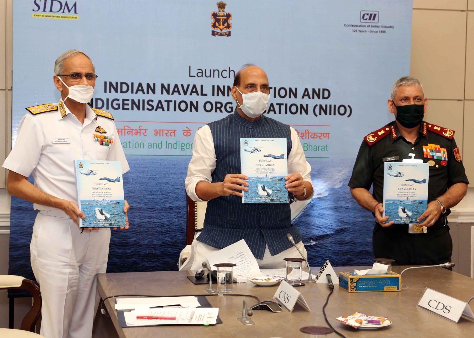 Raksha Mantri launches Naval Innovation and Indigenisation Organisation_40.1