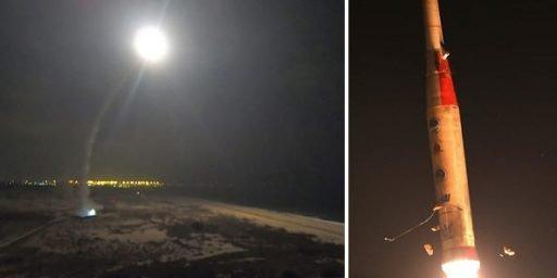 "Israel successfully tested ""Arrow-2"" Ballistic Missile Interceptor_40.1"