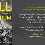 "A book titled ""Full Spectrum: India's Wars, 1972-2020″ by Arjun Subramaniam"
