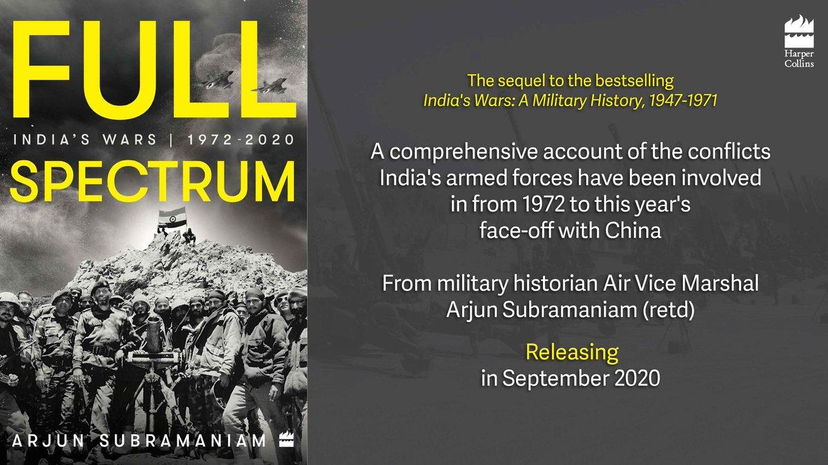 """A book titled """"Full Spectrum: India's Wars, 1972-2020″ by Arjun Subramaniam_40.1"""