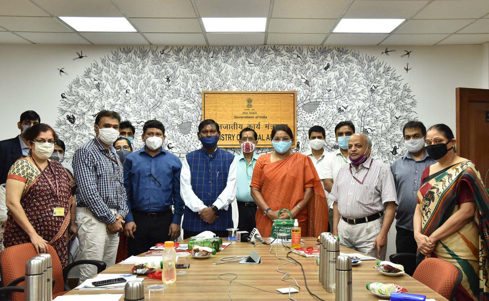 """Ministry of Tribal Affairs launches """"Swasthya"""" & """"ALEKH""""_40.1"""
