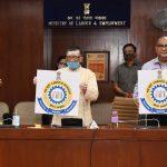 """Santosh Gangwar launches official Logo of """"Labour Bureau"""""""