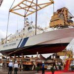 Indian Coast Guard launches Interceptor Boat 'ICGS C-454'