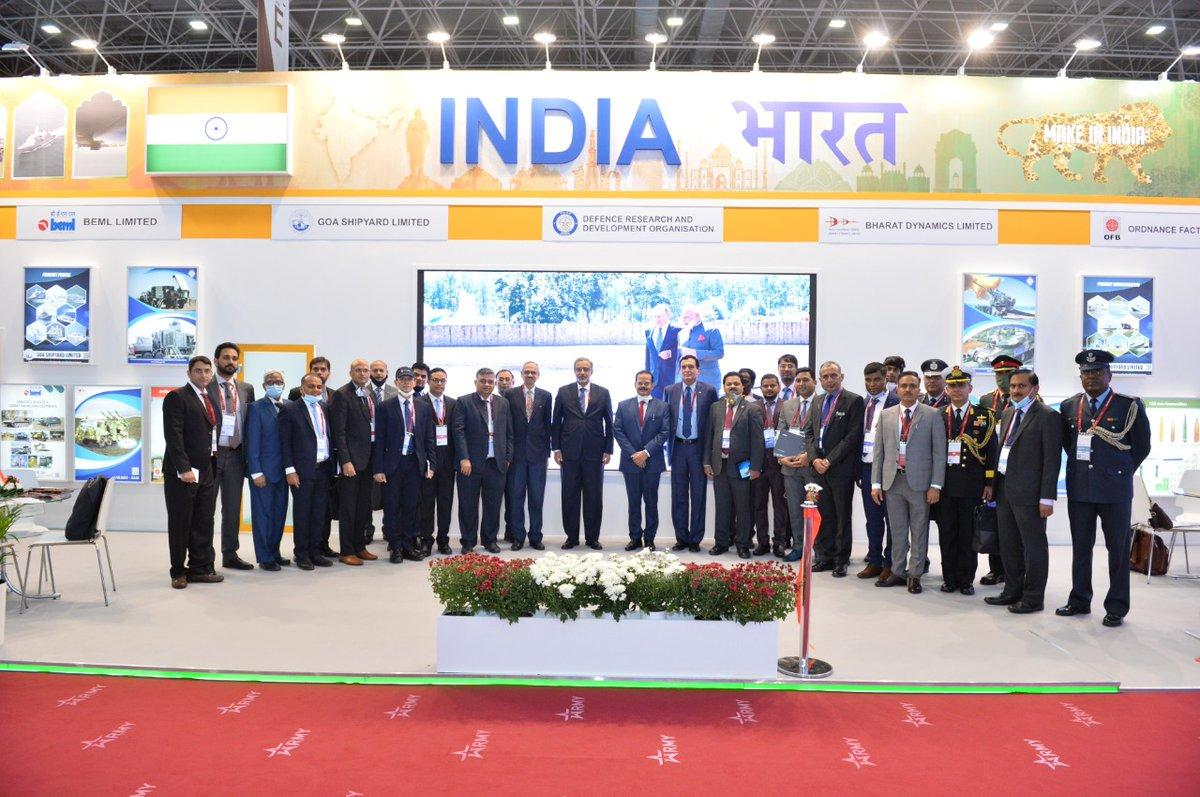 India Pavilion at Army 2020 forum inaugurated in Russia_40.1